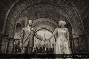 waters edge nyc wedding photography