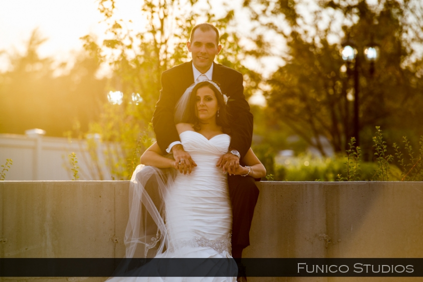 greentree country club bride and groom portrait