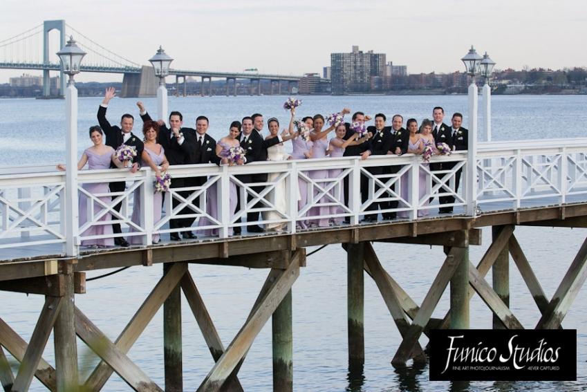 Wedding Party At Marina Del Rey Caterers In Bronx Ny