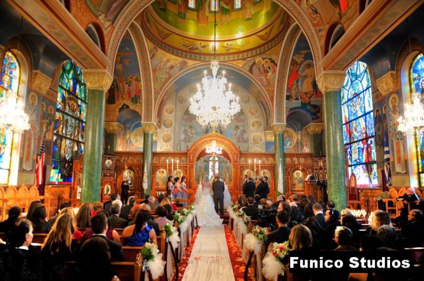 wedding in greek orthodox church