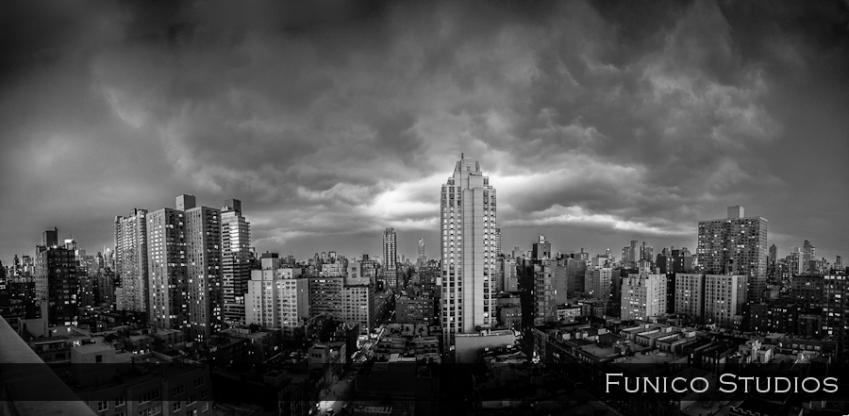 Dramatic NYC Skyline photo