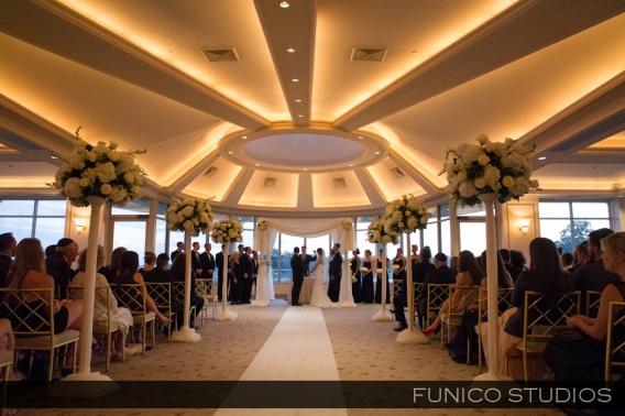 Glen Island Wedding Ceremony Harbour Club