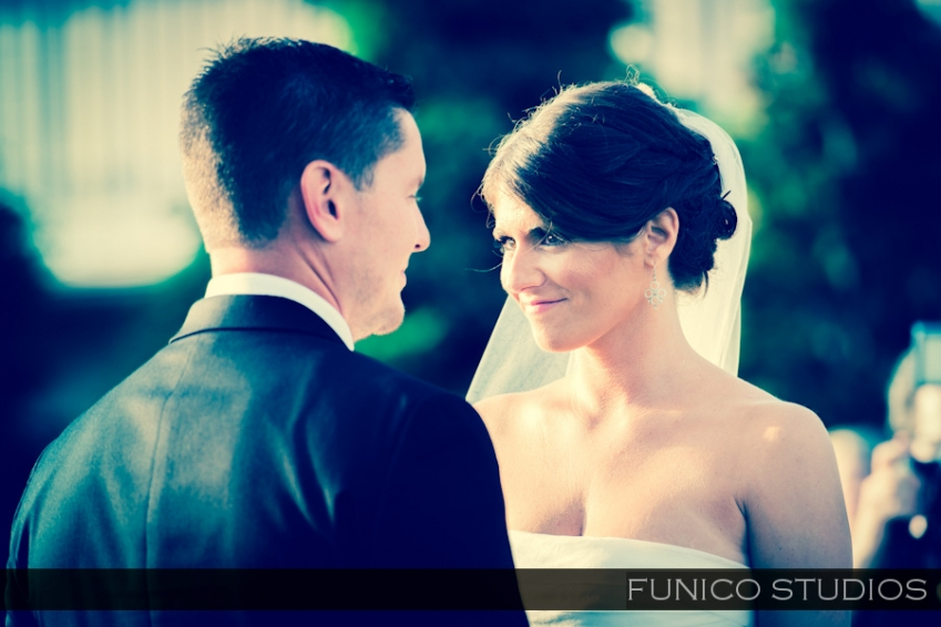 greentree country club outdoor wedding