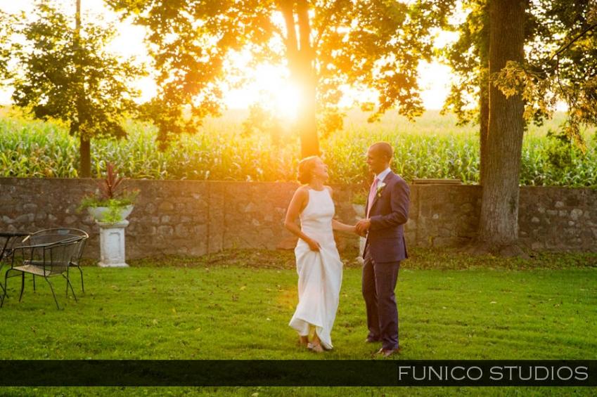 hotel du village wedding photo