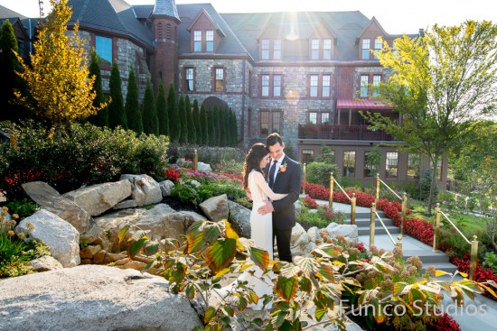 Danielle + Sebastian's Wedding Photos at the Abbey Inn & Spa, Peekskill, NY