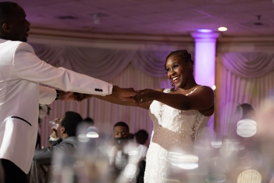 Olivia + Sherwin's Wedding Photos at Greentree Country Club, New Rochelle, NY